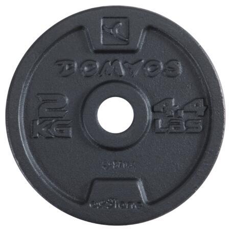Ensemble haltères musculation 20kg