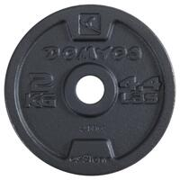 Weight Training 20 kg Threaded Weights Kit