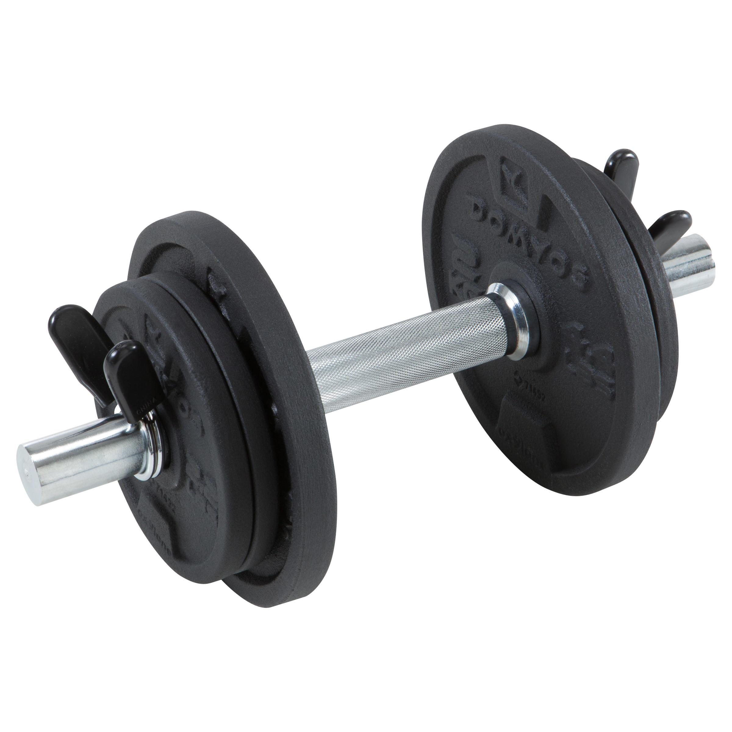 Domyos Halterset voor krachttraining 10 kg