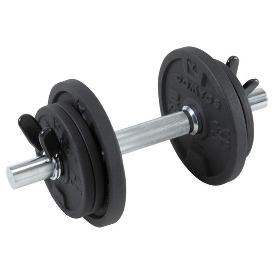 Halterset voor krachttraining 10 kg - 1147436