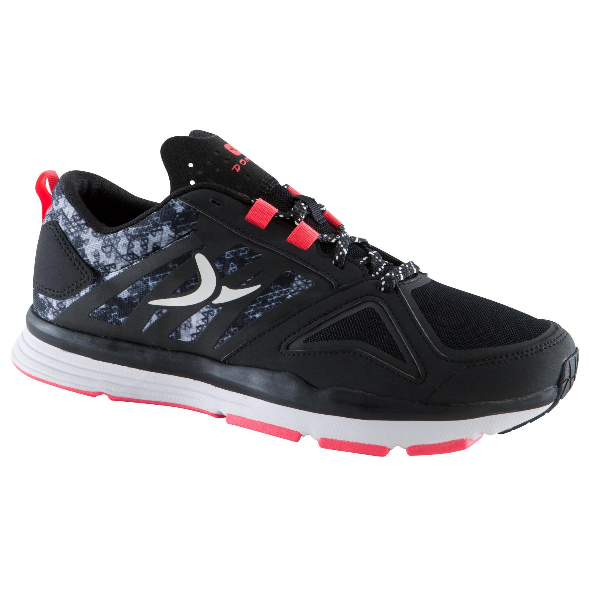 Chaussure fitness cardio femme noir rose energy 900 - Tapis de course energetics power run 4 0 ...