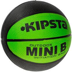 Minibasketbal Mini B voor kinderen maat 1 tweekleurig - 1147614