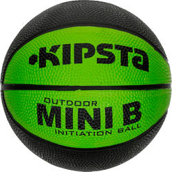 Minibasketbal Mini B voor kinderen maat 1 tweekleurig