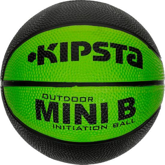 Minibasketbal Mini B voor kinderen maat 1 tweekleurig - 1147616