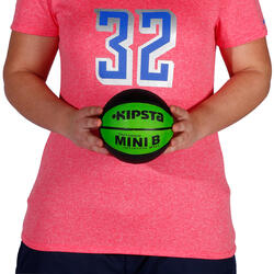 Minibasketbal Mini B voor kinderen maat 1 tweekleurig - 1147619
