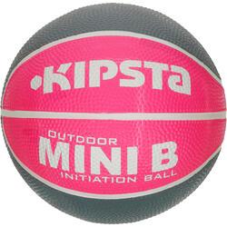 Minibasketbal Mini B voor kinderen maat 1 tweekleurig - 1147623