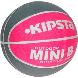 Minibasketbal Mini B voor kinderen maat 1 tweekleurig - 1147626