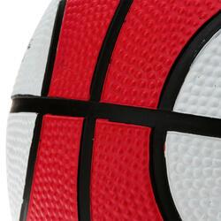 Minibasketbal Mini B voor kinderen maat 1 tweekleurig - 1147631