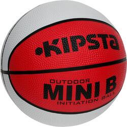 Minibasketbal Mini B voor kinderen maat 1 tweekleurig - 1147632