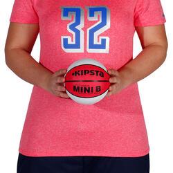 Minibasketbal Mini B voor kinderen maat 1 tweekleurig - 1147640
