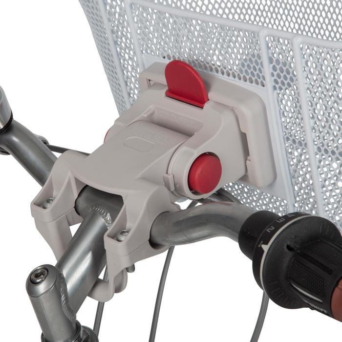 Fahrradkorb 500 Easy Fix Kinder für Lenker weiss
