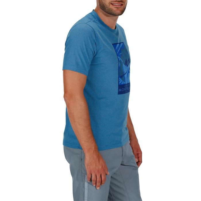 Tee shirt randonnée nature homme NH500 chiné - 1147788