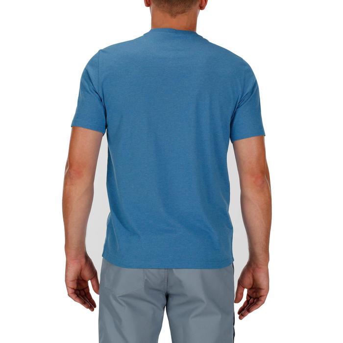 Tee shirt randonnée nature homme NH500 chiné - 1147791