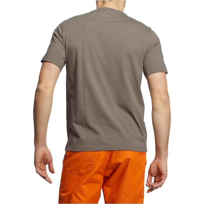 Tee shirt randonnée nature homme NH500 chiné - 1147800