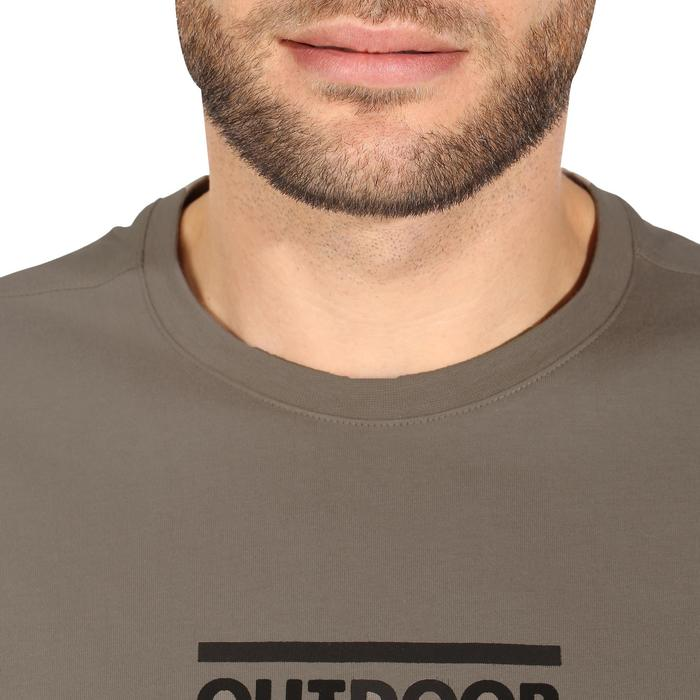 Tee shirt randonnée nature homme NH500 chiné - 1147803