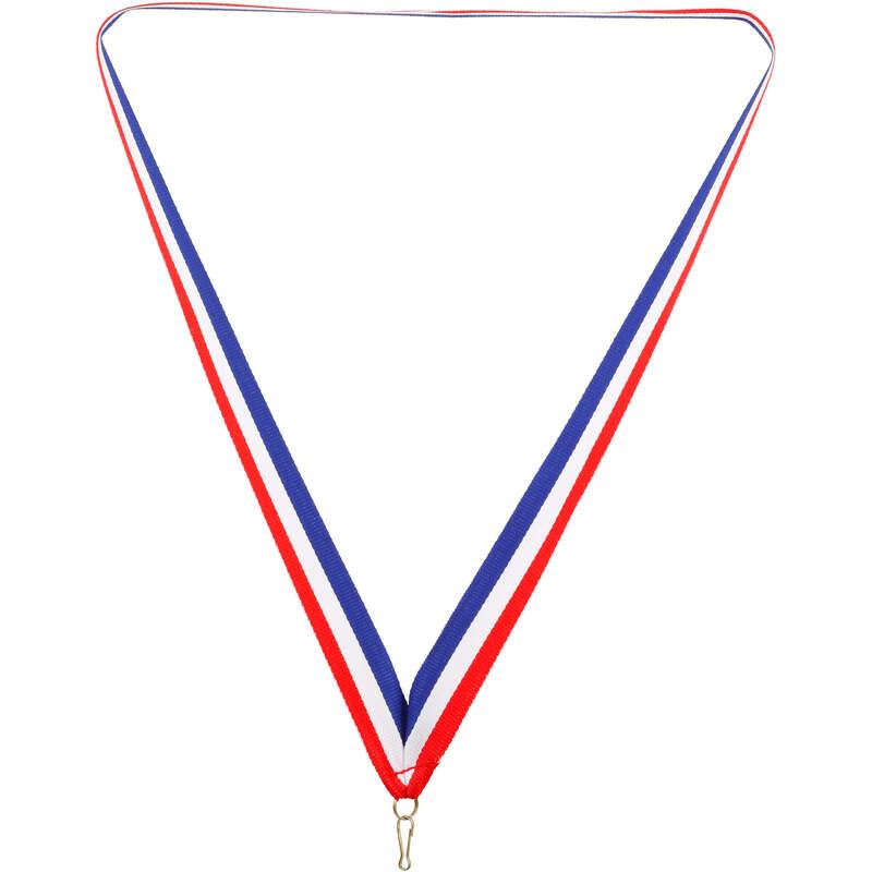 MEDAGLIE Coppe, trofei e medaglie - NASTRO 22mm FRANCIA OLANDA BIEMANS TROPHY PRODU - Coppe, trofei e medaglie