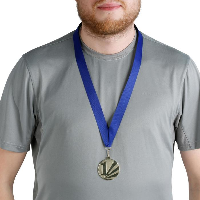 Medaillenband 22 mm blau