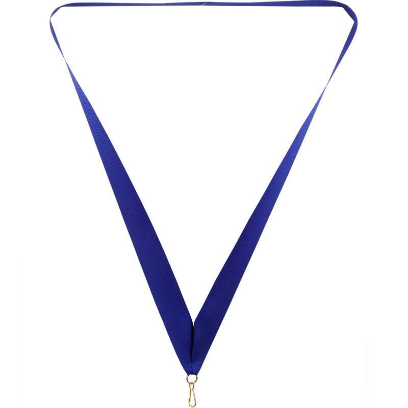 Medals Fotbal - Stuha na medaili 22 mm modrá BIEMANS TROPHY PRODU - Vybavení pro hráče a kluby