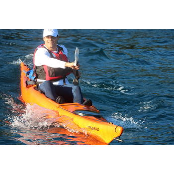 CANOE KAYAK RIGIDE RK500-1 PLACE RANDONNÉE Orange - 1148015
