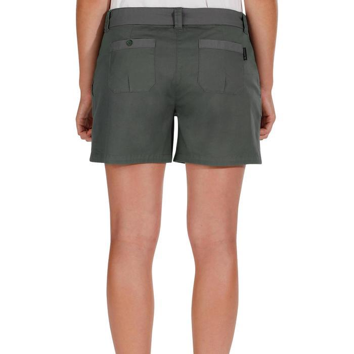 Short wandelen in de natuur NH500 Fresh grijs dames