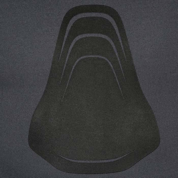 Veste combinaison de chasse sous-marine et apnée 3 mm SPF 100 gris bleu