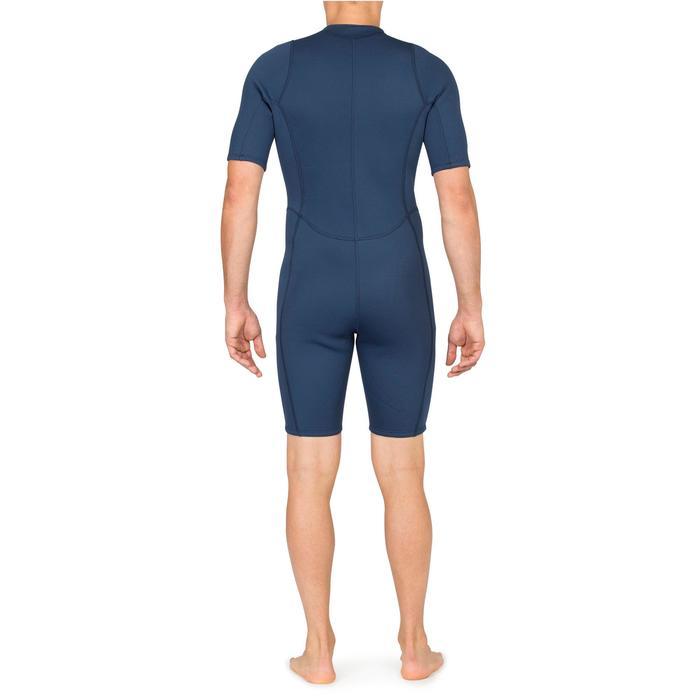Shorty de snorkel 100 hombre azul
