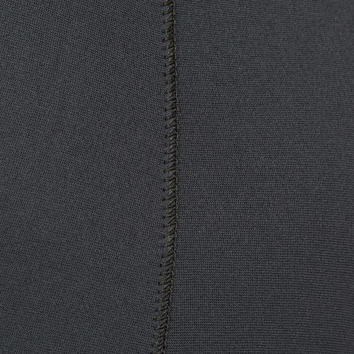 Duikbroek SPF 100 in neopreen van 3 mm voor harpoenvissers grijs/blauw