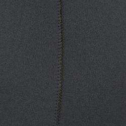 Duikbroek voor harpoenvissen SPF 100 in neopreen van 3 mm grijs/blauw