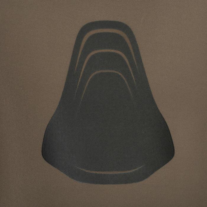 Neoprenjacke Apnoetauchen SPF100 Neopren 7mm kaki/grün