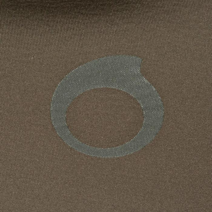 Neoprenjacke Apnoetauchen SPF 100 Neopren 7mm khaki/grün