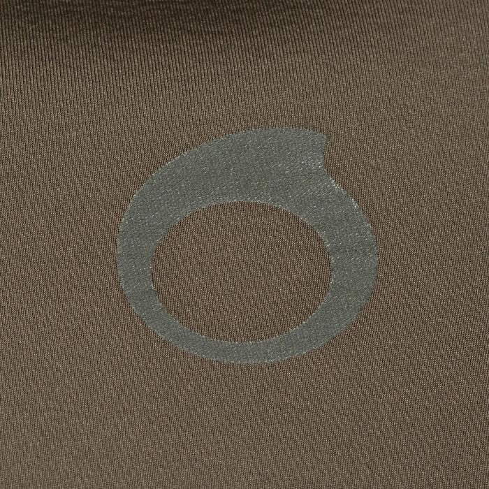 Veste combinaison de chasse sous-marine apnée 7 mm SPF 100 kaki vert