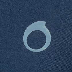 Short de plongée avec tuba 100 bleu - Hommes
