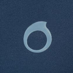 男款短款浮潛衣100-藍色