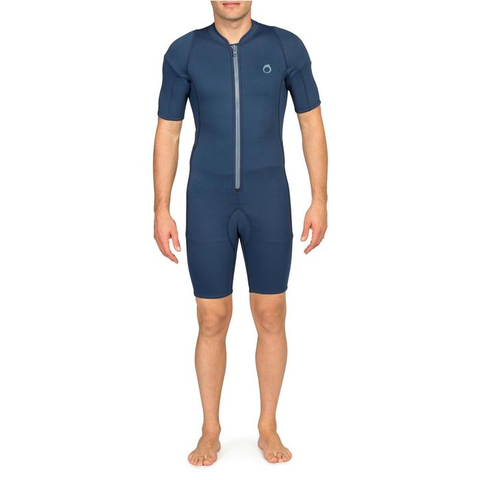 100 Men's 2mm Snorkelling Shorty blue - 1148223