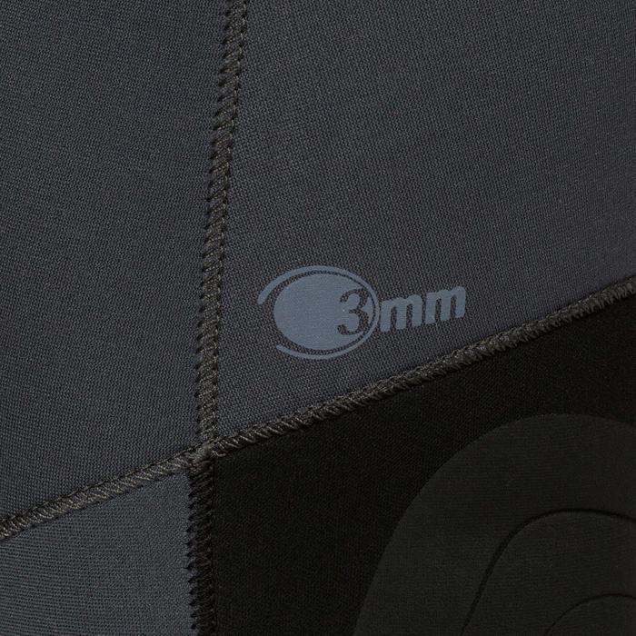 Neoprenhose Apnoetauchen SPF 100 Neopren 3mm grau/blau