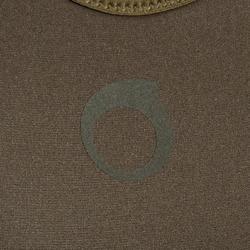 Neoprenhose Trägerhose Apnoetauchen 7mm SPF 100 khaki/grau