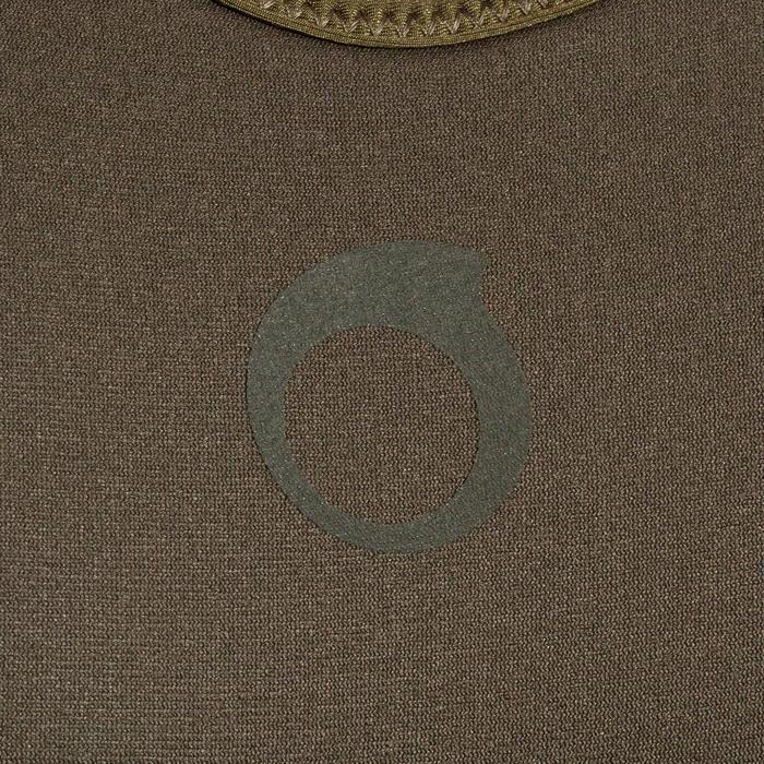 Peto traje de pesca submarina apnea 7 mm SPF 100 caqui gris