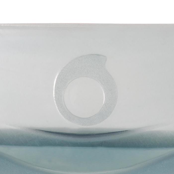 Duikbril SCD 500 blauwgrijze mantel en pastelkleurige rand