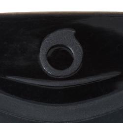 Máscara de submarinismo con botella SCD 500, facial negro y montura azul