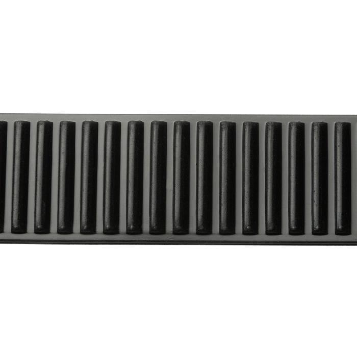 Tauchmaske SCD 500 für Gerätetauchen schwarz/blau Zweiglas/Bi-Glas Tauchermaske