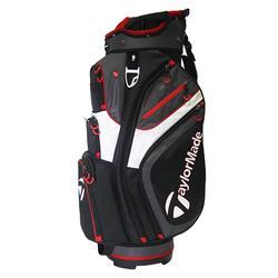 Golf trolleytas zwart/rood