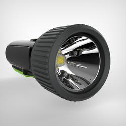 LAMPE TORCHE AUTONOME DYNAMO 300 WP Noire - 35 lumens