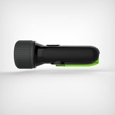 Self-powered waterproof torch - DYNAMO 300 WP black - 35 lumens