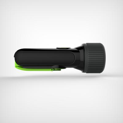 Self-powered waterproof torch - DYNAMO 300 WP black - 35 lumens