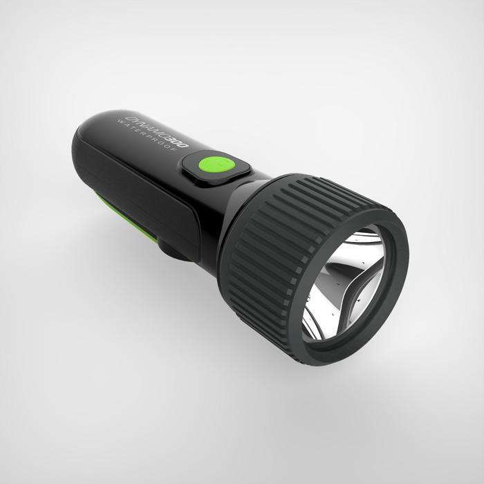 LAMPE TORCHE AUTONOME DYNAMO 300 WP Noire - 35 lumens - 1148463
