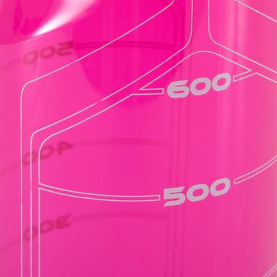 Пляшка для води для фітнесу, 750 мл - Рожева