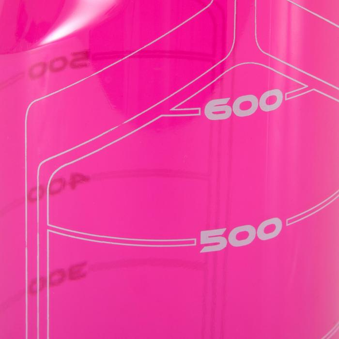 Bidon fitness 750 ml rose