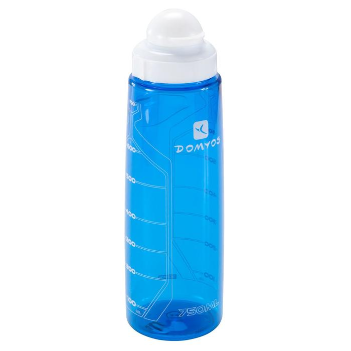 Bidon fitness 750 ml bleu