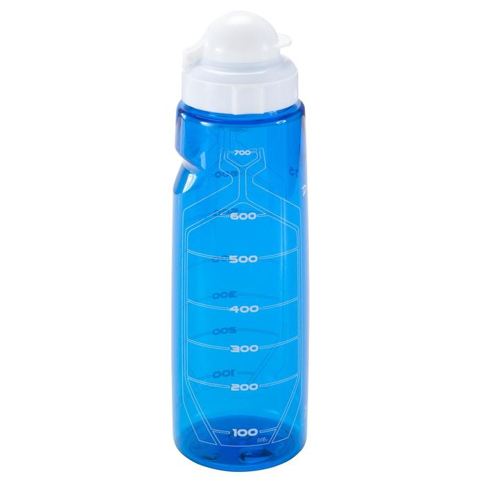 Bidón fitness 750 ml azul