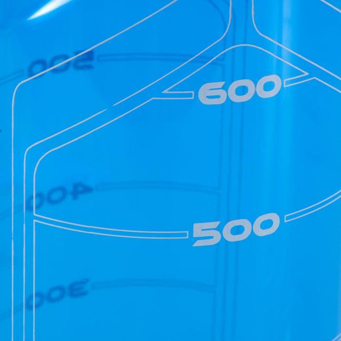 Fitness bidon 750 ml, blauw